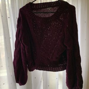 Charlotte Russe Sweaters - Charlotte Russe crop sweater, NWOT